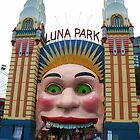 Luna Park, Sydney by Michael Vickery