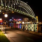 Sydney Harbour Bridge (Night) by Aaron Carr