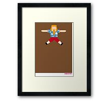 Foot-T 'ginger beard' Framed Print