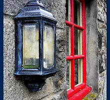 The red window ~ Blair Athol Whisky Distillery, Pitlochry, Perthshire by ©The Creative  Minds