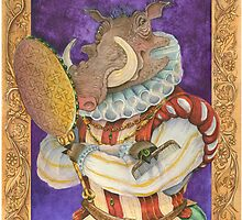 Sir Warthog by Patti Argoff
