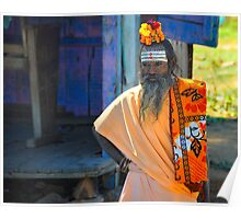 The Watchful Sadhu Poster