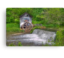 Hyde Mill Revisited Canvas Print