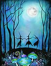 Witches Dancing Under the Moob by Annya Kai
