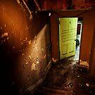 Green Door by Sam Scholes