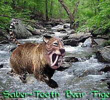Saber Tooth Bear Tiger by KBrannan