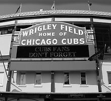 Wrigley Field by Michael McCasland