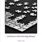 Life is a Jigsaw Puzzle by Werner Langer