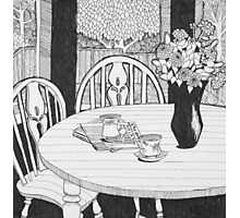 The Kitchen Table Photographic Print