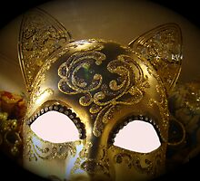 Venetian Mask by Al Bourassa