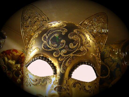 Venetian Mask by Al Bourassa