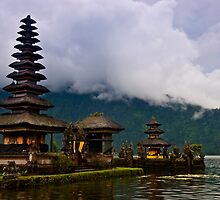 Lake Temple Bali by JohnKarmouche