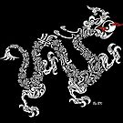 Calligraphy Dragon by bkphoto
