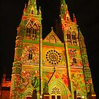 Vivid St Mary's Cathedral by Michael Matthews
