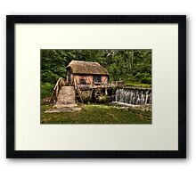 Gomez Mill Framed Print