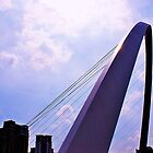 millennium bridge in newcastle by xxnatbxx