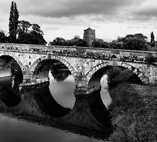 Atcham Bridge by Simon Pattinson