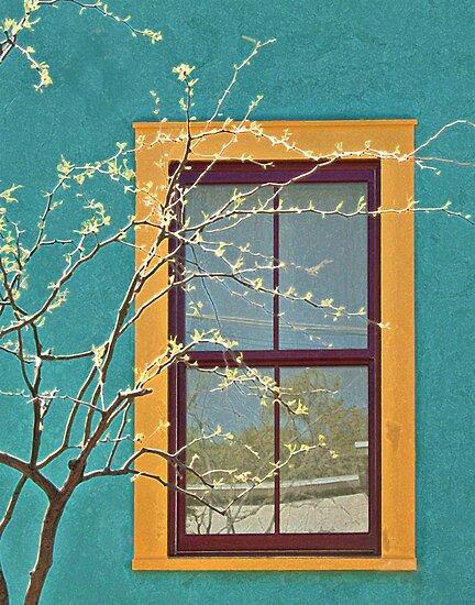 Barrio Window by Linda Gregory