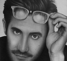 Jake Gyllenhaal portrait by robdolbs