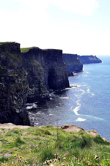 Cliffs of Moher, Co. Clare, Ireland by Pat Herlihy
