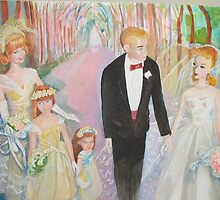 Barbie and Ken Wedding by Celeste Schor