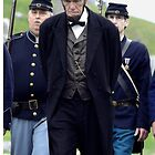 President Lincoln with Escort by James Formo