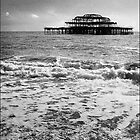Brighton West Pier by Chas Bedford