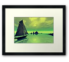 Mysterious Voyage Framed Print