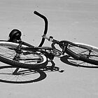 Bike on the Beach by Caren