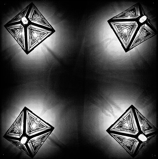 Kaleidoscope on the Ceiling by Bob Larson