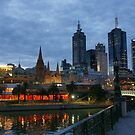 Melbourne Twilight by Harry Oldmeadow