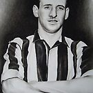 Frank Brennan FA Cup winner NUFC by Peter Lawton