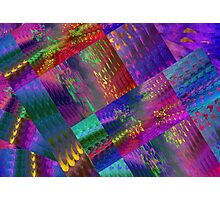 Colors & Flowers & Abstract. Photographic Print