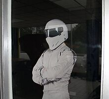 stig waits for the grand opening by TudorSaxon
