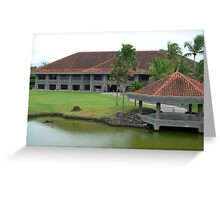Mt. Malarayat Golf Course Function Hall Greeting Card