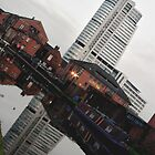 Canal Reflection by Dannyshack