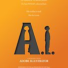 Artificial Intelligence vs. Adobe Illustrator by Viktor Hertz