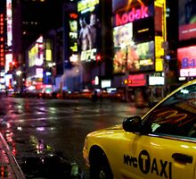 Times Square Cab by max1210