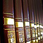 Sunlight Hitting Books by Dannyshack
