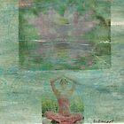 lotus symbiosis by Della  Badart