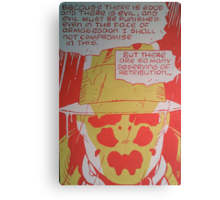 Watchmen original painting Canvas Print