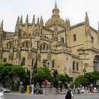 Cathedral by Day, Segovia, Spain by jtalia