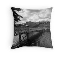 A Bridge, A River Throw Pillow