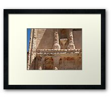 Tumacacori Columns and Capitals Framed Print