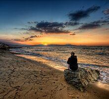 Crete - Sunset II by Pawel Tomaszewicz