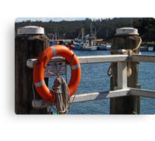 Rescue Device-Lifesaver Canvas Print