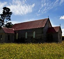 Church In the Prairie by MagnusAgren