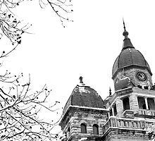Winter Courthouse by Stacie Forest