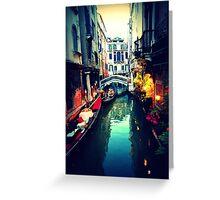 Venetian Glow Greeting Card