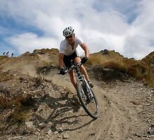 Mountain Biker by trevallyphotos